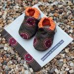 Baby booties, 0-6 months
