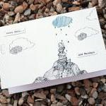 Rainy days and Mondays card (detail..