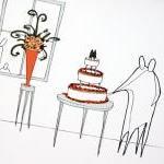 Wedding cake, Anonymity Illustrativ..