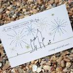 A6 Engagement card personalised (an..
