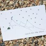 A6 Reach for the stars card (anonym..