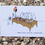 A6 80th birthday card (anonymity ra..