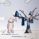 Snowbear illustrative print - 8.5&q..