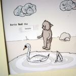 Balletbear illustrative print - 8.5..