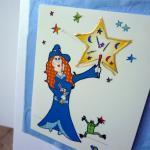 Lilly's stars card (Bessie Friends ..