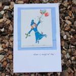 Lilly's magic birthday card (Bessie..