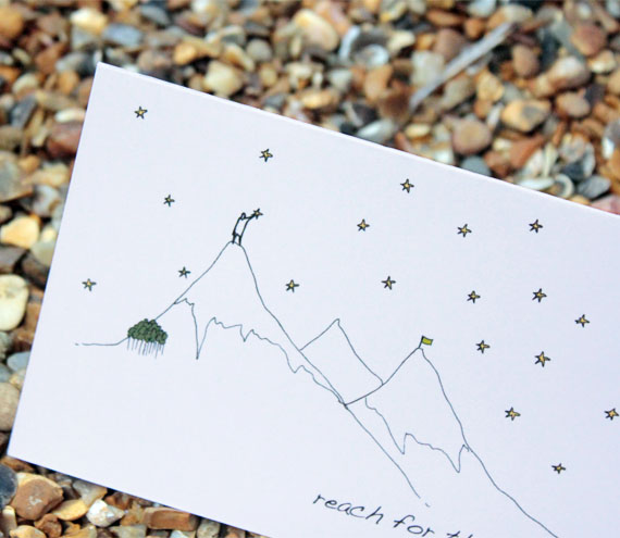 A6 Reach for the stars card (anonymity)