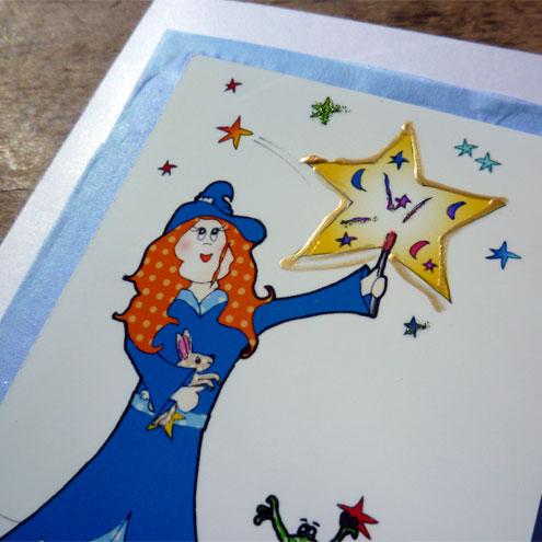 Lilly's stars card (Bessie Friends Range)