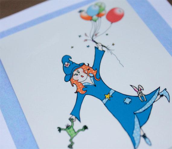 Lilly's magic birthday card (Bessie Friends Range)