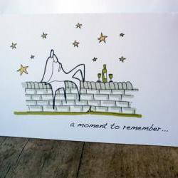Romantic moment card (Anonymity range)