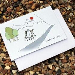 Must be love card (Anonymity range)