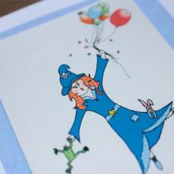 Lilly's magic birthday card (Bessie Friends Range)