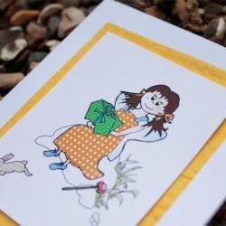 Bessie's Treats card (Bessie friends card)